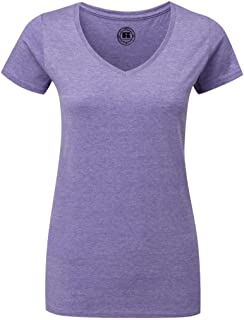 Russell R-166F-0 Ladies' V-Neck HD T