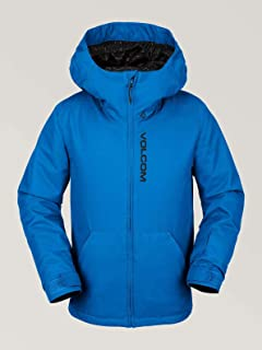 Volcom Boys' Big Vernon Insulated 2 Layer Shell Snow Jacket