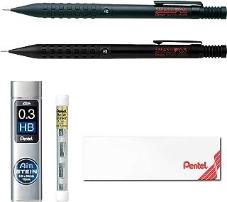 ぺんてる シャープペン スマッシュ 0.5mm 0.3mm ギフト箱セット AMZ-Q1000ST