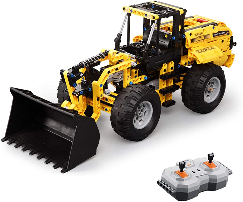 en linea HUIGE Control Remoto Funcional Completo Tractor de construcción construcción construcción del Cochegador Delantero, el Juguete de Bulldozer de Metal Completo Puede excavar  selección larga