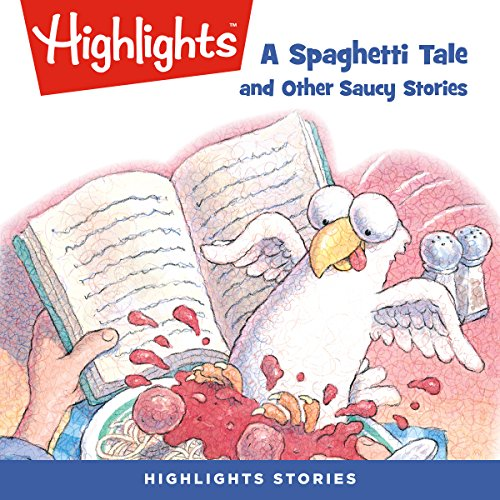A Spaghetti Tale and Other Saucy Stories audiobook cover art