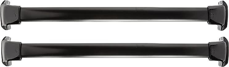 Spec-D Tuning RRB-CRV12BK Honda CR-V 4Dr Black Aluminum Roof Top Cross Rack Trail Bar Pair