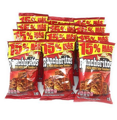 Sabritas Rancheritos Bundle of 12 (2.11oz)