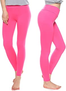 66721eb105d603 KT Buttery Soft Leggings Capri for Women - High Waisted Leggings Pants with  Inner Pocket