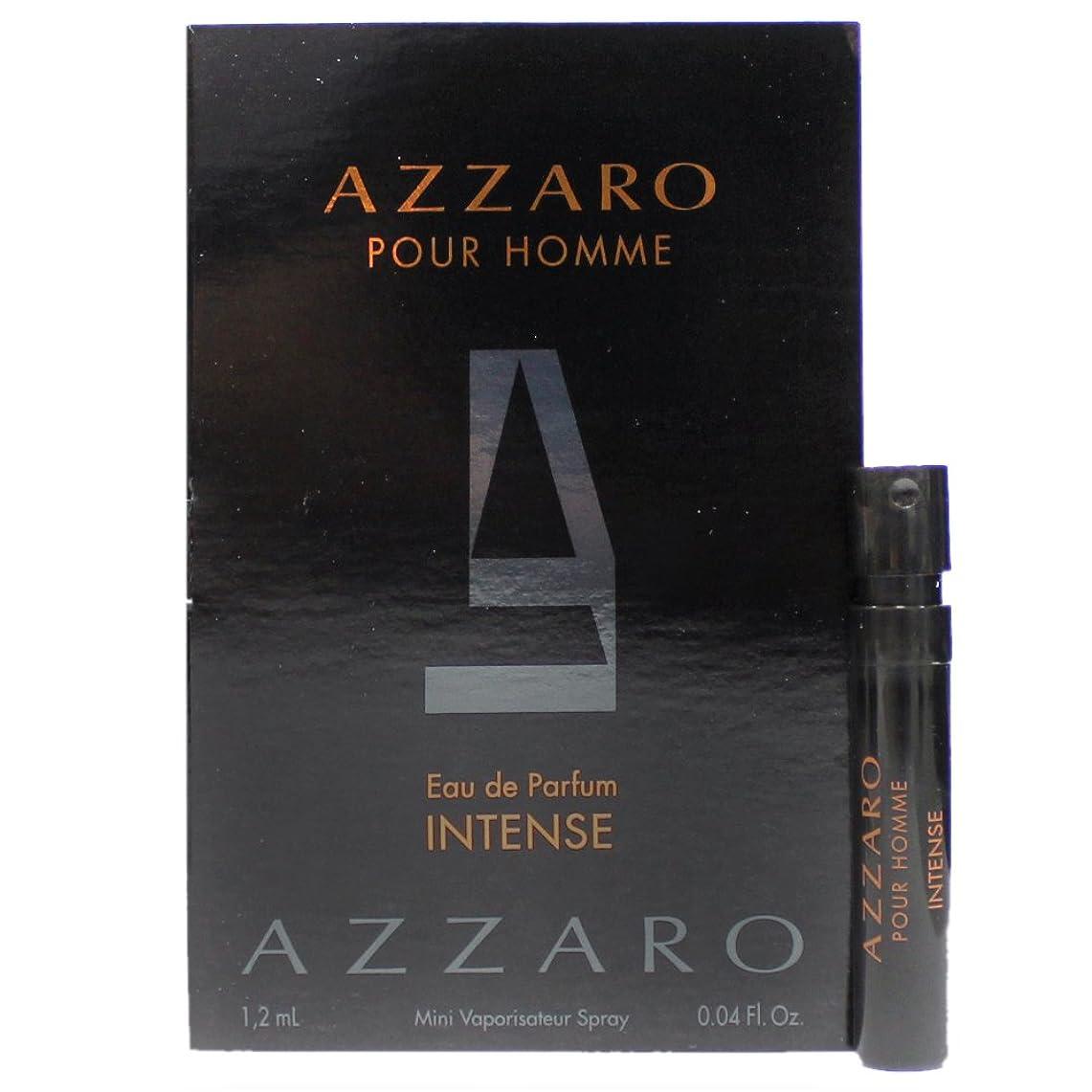 スローランプアザロ プールオム オードパルファム インテンス (2015) 1.2ml AZZARO POUR HOMME EDP INTENSE [並行輸入品]