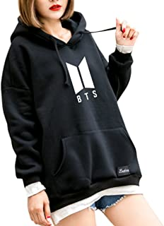 BTS Hoodie Bangtan Spring Hooded Sweatshirt Hip Hop Patchwork Hoodies With Pocket