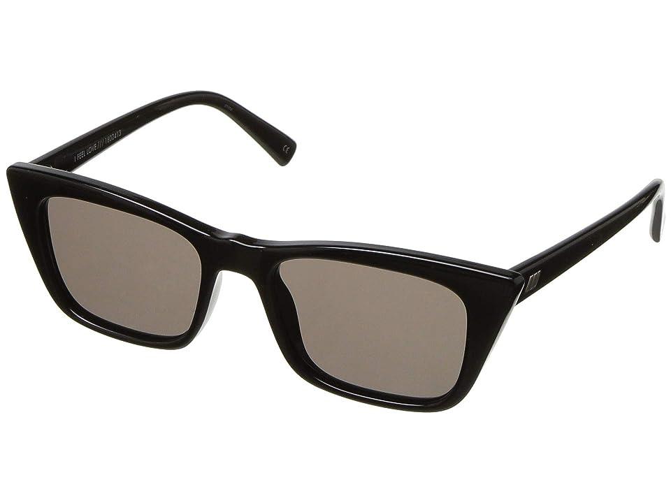 Le Specs I Feel Love (Black) Fashion Sunglasses