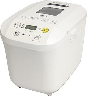 山善 ホームベーカリー(1斤/0.5斤選択可能) ホワイト YBA-560(W)