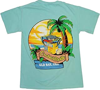 Route One Apparel | Officially Licensed Crabaritaville - Old Bay, USA Shirt