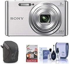 Sony Cyber-Shot DSC-W830 Digital Camera, 20.1MP, 8X...