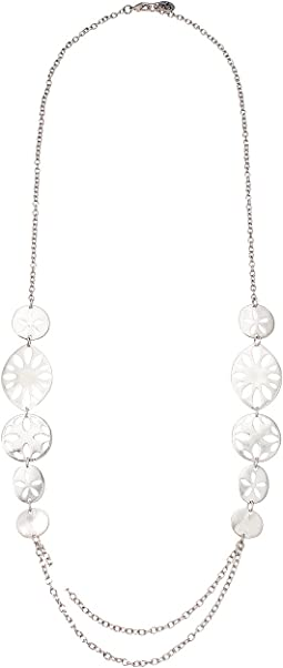 Perforated Strand Necklace 30""