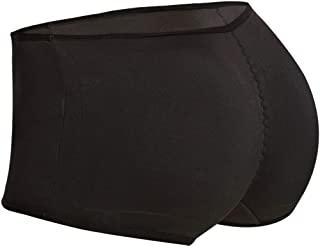Seamless Padded Butt Lifter Panties Hip Enhancer with Removable Pads Womens Boy Shorts