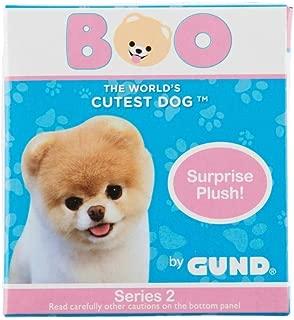 GUND 4061287 World's Cutest Dog Boo Surprise Stuffed Animal Plush Blind Box Series #2: Animal Theme, Multicolor, 3