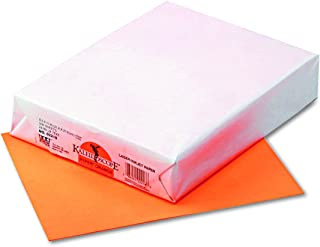 Kaleidoscope Multi-Purpose Paper, 8.5 x 11 Inches, Hyper Orange, 500 Sheets (102218)