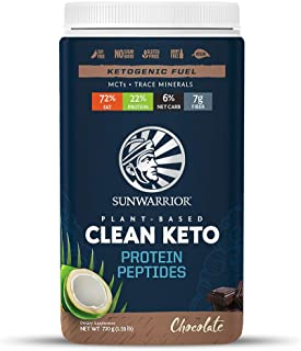 Sunwarrior - Vegan Keto Protein Peptides, (720 g, Chocolate)