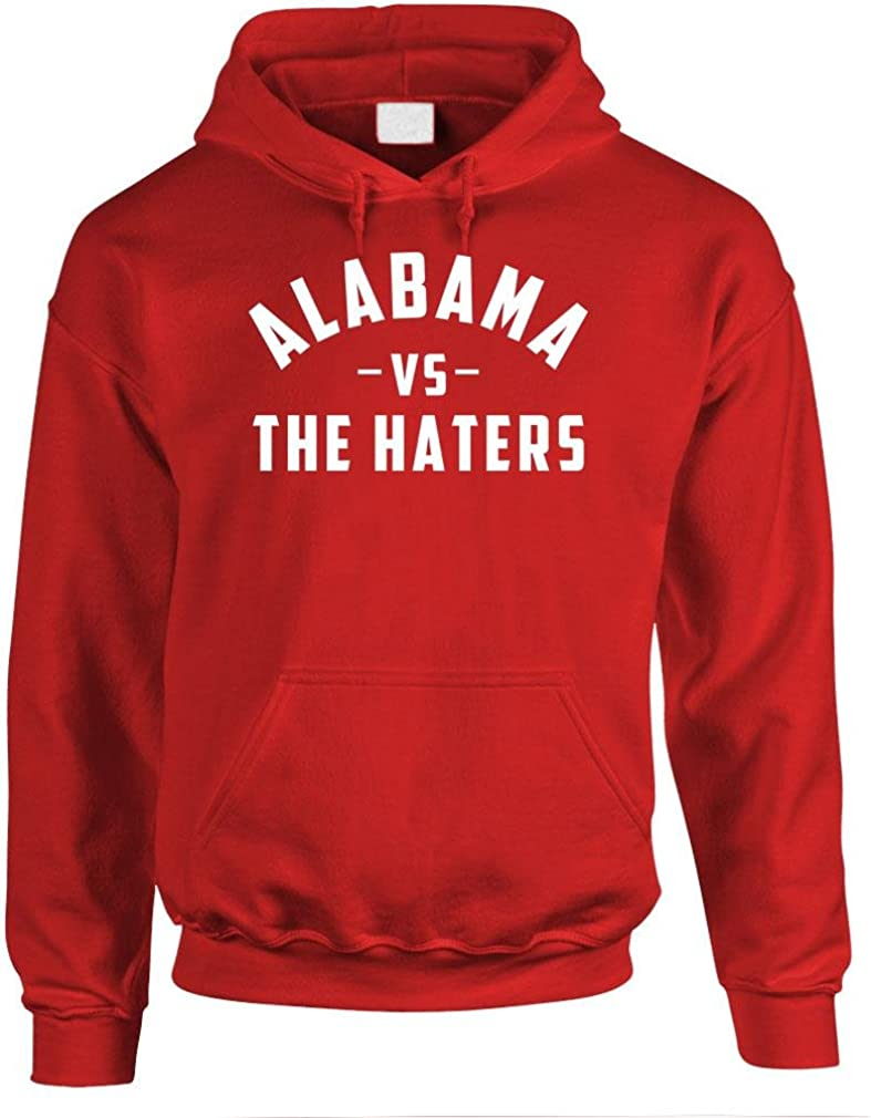 Alabama VS The Haters - Football College - Mens Pullover Hoodie