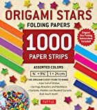Origami Stars Papers 1,000 Paper Strips in Assorted Colors: 10 colors - 1000 sheets - Easy Instructions for Origami Lucky Stars (Origami Paper)