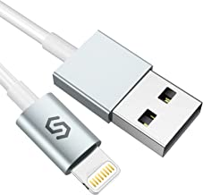 Syncwire iPhone Charger Cable Lightning, 3.3ft/1M [Apple Mfi Certified] High Speed iPhone Charging Cord for iPhone Xs Max/XS/XR/X, 8 7 6S 6 Plus, Se 5S 5C 5, iPad iPod - White