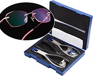 Rimless Glasses Frame Silhouettes Eyeglass Optical Kit Plier Repair Disassembly Tool
