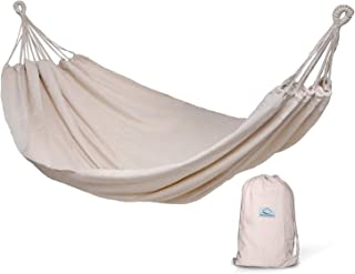 (Natural) - Hammock Sky Brazilian Double Hammock - Two Person Bed for Backyard, Porch, Outdoor and Indoor Use - Soft Woven...