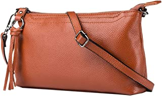 FITYLE Women Genuine Leather Handbags Adjustable Detachable Shoulder Bag Purse Satchel Clutch