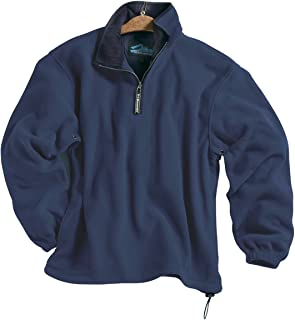 Tri-Mountain Men's 100% Polyester Anti-Pilling Micro Fleece 1/4 Zip Escape Pullover (6 Color)