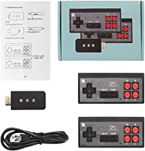 Data Frog USB Wireless Handheld TV Video Game Console Build in 600 Classic Game 8 Bit Mini Video Console Support AV/HDMI O...