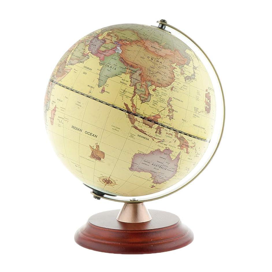 ステレオコンクリートタブレットFityle 地球儀 LED地球儀 古典的回転 星座地図 木製スタンド ナイトライト