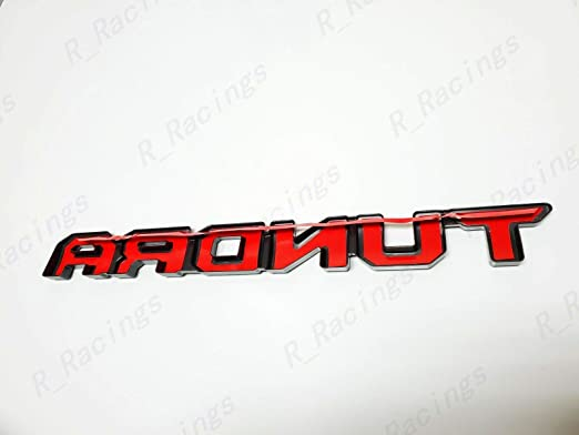 weekeight 7PCS FOR 2014-2019 FOR Tundra Blackout Emblem Overlays ABS Plastic