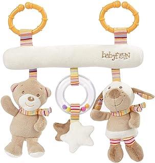 Fehn 160987 Activity-Trapez Rainbow – Stoff-Trapez zum Greifen, Fühlen, Spielen für Zuhause oder unterwegs – Für Babys und Kleinkinder ab 0 Monaten – Maße: 27cm lang