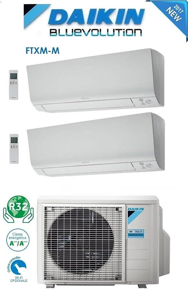 Daikin,climatizzatore condizionatore dual split inverter ,12000+12000 btu/h bluevolution a+++ 2MXM40M-FTXM2025N