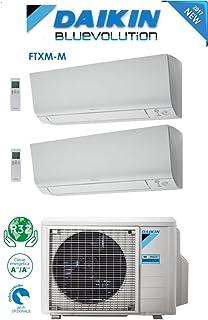 Daikin - Climatizador aire acondicionado Dual Split Inverter, 12000+ 12000BTU/h, Bluevolution A+++