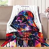 Elliot Dorothy Star Wars - Toalla de playa de colores cálida, elegante manta de franela, microfibra, colorido, 60'x70'(W152cmxL178cm)