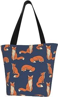Prv0o Damen-Schultertasche mit floralem Origami-Motiv, große Größe, aus Segeltuch, Hobo-Umhängetasche, Handtasche