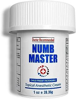 Numb Master Lidocaine 5% Topical Numbing Cream, Pain Relief Cream for Hemorrhoid..