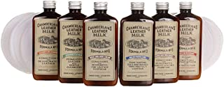 Chamberlain's Leather Milk Formula No. 1-6 - Complete Leather Care Kit, All-Natural and Non-Toxic - 6 oz