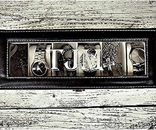 Personalized Watch Box for Men, Available in 2, 3, 4, 5, 6 or 10 Slot