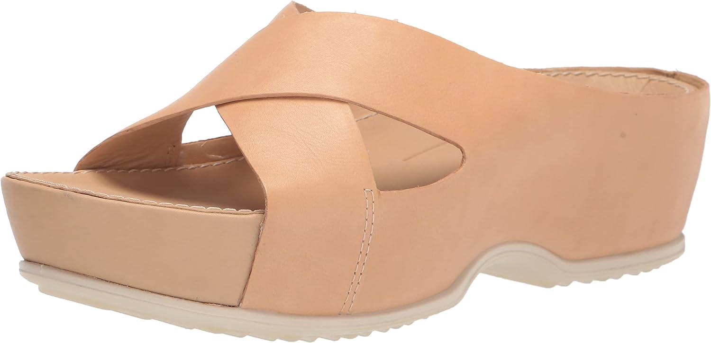 ECCO Women's Directly managed store Ifla Platform Slide New Free Shipping Sandal Wedge