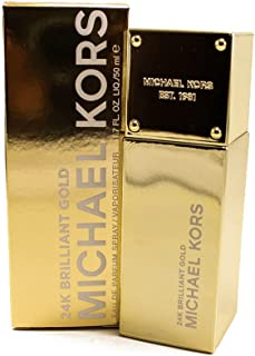 Michael Kors 24K Brilliant Gold Perfume con vaporizador - 50 ml