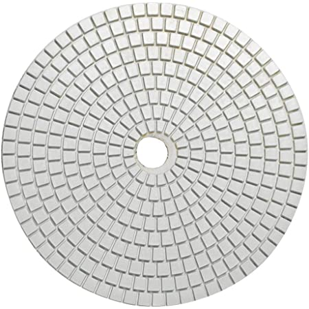 Create Idea Lot de 20 tampons de Polissage diamant/és 11 /étapes pour Pierre Granit 10,2 cm b/éton