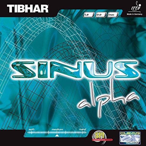 Tibhar Belag Sinus Alpha, schwarz, 1,8 mm