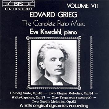 Grieg: Complete Piano Music, Vol. 7
