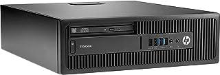 HP Elitedesk 800 G1 SFF PC - Core i5 (4ª Gen) 8 GB RAM, 500 GB HDD, DVD-RW – Win 10 Profesional Ordenador (reacondicionado)