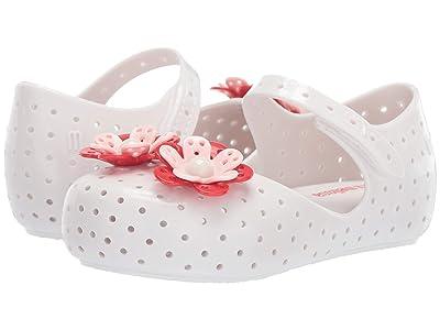 Mini Melissa Mini Furadinha XII (Toddler/Little Kid) (Bright White) Girls Shoes