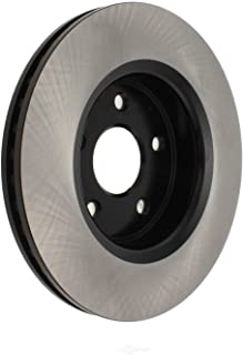 Centric Parts 120.58001 Premium Brake Rotor with E-Coating