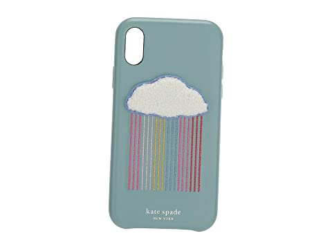 Kate Spade New York Rainbow Cloud Patch Phone Case For iPhone XR