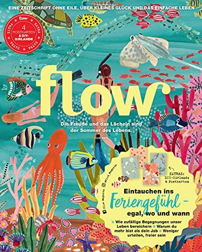 Flow Nummer 59 (5/2021): Eine Zeitschrift ohne Eile, über kleines Glück und das einfache Leben