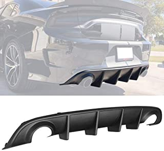 rear diffuser dodge charger