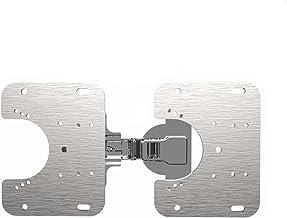 Scharnier montageplaat past zich aan scharnier kopjes van verschillende maten, gemakkelijk te monteren verborgen kast scha...