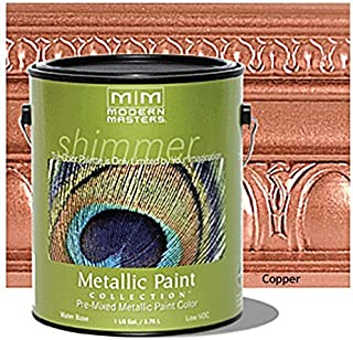 Modern Masters ME195-GAL Metallic Paint, Copper Size: Gallon Color: Copper, Model: ME195-GAL, Outdoor & Hardware Store